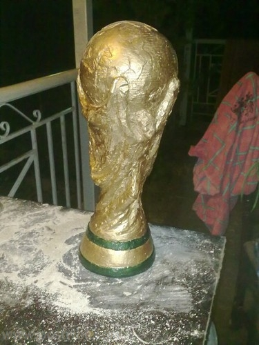 Skulpture kupa e botes 2010 - Teknika allci gllenddie