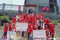 Dora e Pajtimi, turizmi kulturor, në kalanë e Drishtit